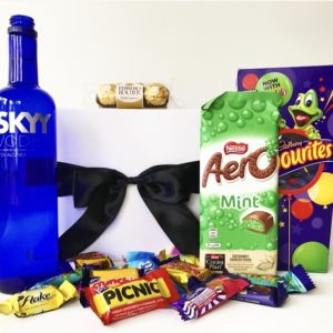Chocolate, Vodka, sky Vodka, Nestle, Cadbury, Favourites, Gift hampers, Gift Baskets, Gift Box, Christmas